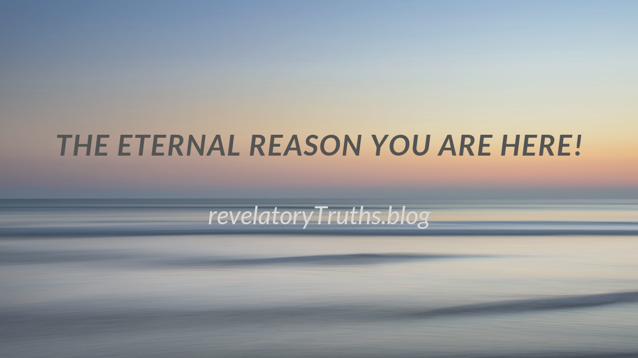The Eternal Reason You are Here!